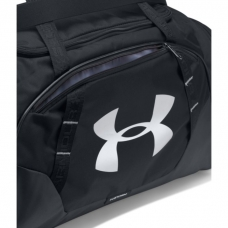 UA Undeniable 3.0 Small Duffle Bag, Black/Black
