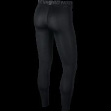 Nike Pro Men's Training Tights, Black/White