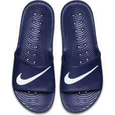 Nike Men's Kawa Shower Slide, Midnight Navy/White