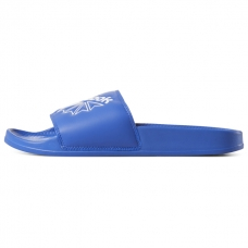 Reebok Classic Slide Sandals, Crushed Cobalt/White