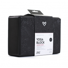 ZOE, Premium Yoga Block, Black